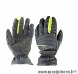 Gants Moto taille S marque GTR All Weather Noir/Jaune Fluo