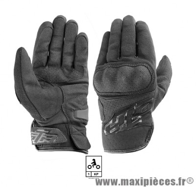 Gants Moto taille S marque GTR Smx Coques Black