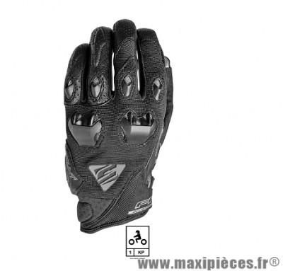 Gants Moto taille S marque Five Stunt Evo Black