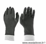 Sous Gants marque TNT Noir/Gris En Coton taille XL