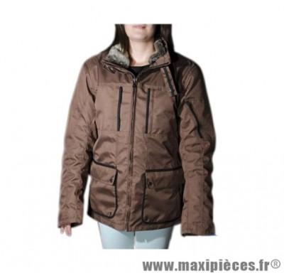 Blouson 3/4 marque Steev City-Brown taille XL