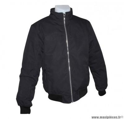 Blouson marque ADX Rival Homme taille L Noir (avec protections/sans plaque dorsale)