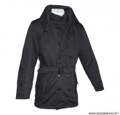 Veste 3/4 marque ADX Look In Noir taille S (avec protections/sans plaque dorsale)