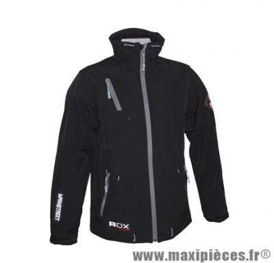 Veste marque ADX Mainstreet Noir taille L (avec protections/sans plaque dorsale)