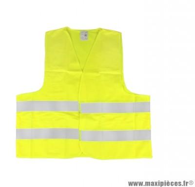 Gilet de Securite Jaune Haute Visibilite Homologue Adulte Taille taille XL