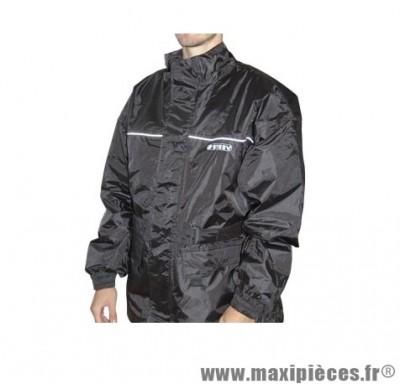 Veste pluie marque Steev Sheffield Noir taille XXL