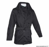Veste 3/4 marque ADX Look In Noir taille L (avec protections/sans plaque dorsale)