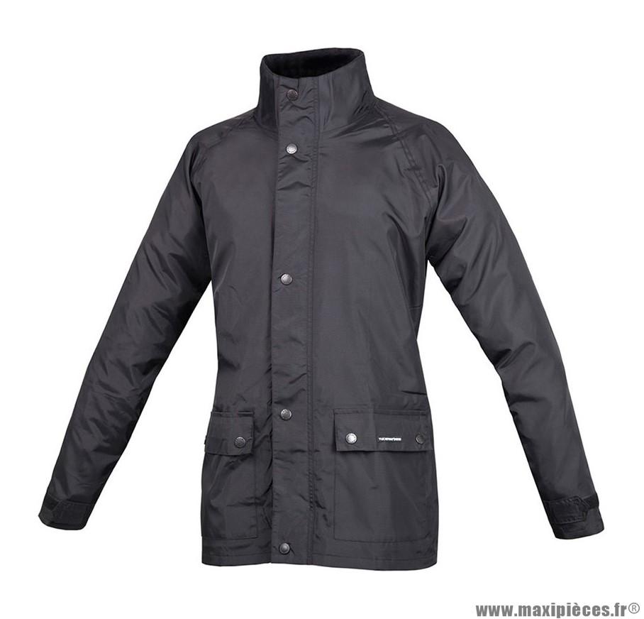 Veste de pluie taille XXXXL (4Xl) marque Tucano Set Diluvio Plus Noir
