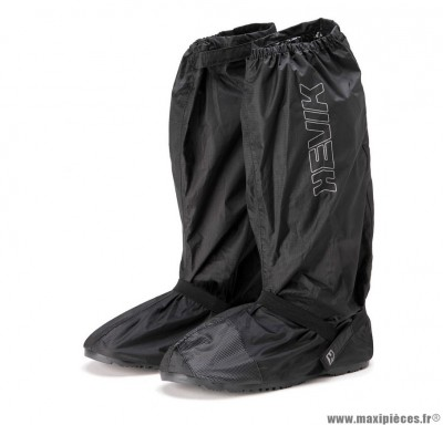 Prix spécial ! Sur-bottes de pluie marque Hevik Noir 40/41 (Avec Semelle En Caoutchouc)