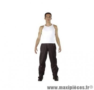 Pantalon pluie marque Steev Weston Noir taille M