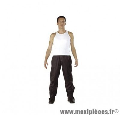 Pantalon pluie marque Steev Weston Noir taille XL