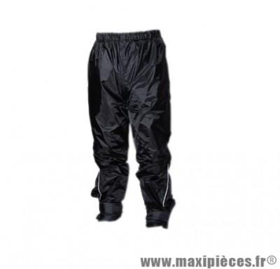 Pantalon pluie marque Steev avec doublure Weston Noir taille M