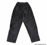 Pantalon de pluie marque ADX Luxe Noir taille XL (Soufflet Au Pied avec Velcro et Elastique D'Ajustement)