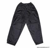 Pantalon de pluie marque ADX Eco Noir taille L (Pressions et élastique d'ajustement + sac de transport)