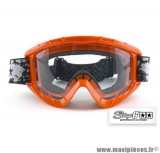 Masque de cross marque Stage 6 couleur Orange