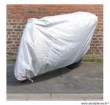 Housse de protection en polyester 70 deniers (230x100x125cm) (élastiques + sangle + oeillets) pour moto
