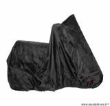 Housse de protection noir 100% etanche (188x102x115) (pvc + polyester-oeillets antivol) pour scooter / moto