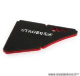 Mousse de filtre à air marque Stage 6 «Double Mousse» pour Derbi Senda Euro3