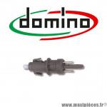 Contacteur de stop DOMINO (clipsable) diamètre 8.5mm pour moto/scooter/quad *Prix spécial !