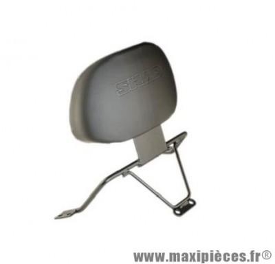 Dosseret maxi scooter marque Shad pour passager x max/skycruiser 125 de 2005 a 2009