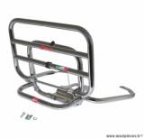 Porte bagage maxiscooter arrière pour piaggio 125 vespa lx chrome repliable - marque Faco