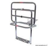 Porte bagage maxiscooter arrière pour piaggio 125 vespa px chrome repliable - marque Faco