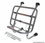 Porte bagage maxiscooter avant pour piaggio 125 vespa px chrome - marque Faco