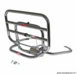 Porte bagage maxiscooter arrière pour piaggio 125 vespa s chrome repliable - marque Faco