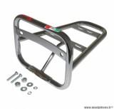 Porte bagage maxiscooter arrière pour piaggio 125 vespa lx chrome - marque Faco