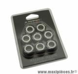 GALET / ROULEAU POUR MAXISCOOTER DE MARQUE ARTEK K1 25x14,9 12,0g (x8) POUR YAMAHA 500, 530 TMAX, 400 MAJESTY
