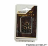 GALET / ROULEAU DE MARQUE DOPPLER POUR MAXISCOOTER 18X14 9,5 G. (X6) POUR: SCOOTER CHINOIS 125 / PEUGEOT