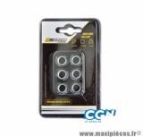 GALET / ROULEAU DE MARQUE DOPPLER POUR MAXISCOOTER 20X12 9,0 G. (X6) POUR: X MAX 125 / MAJESTY 125 / FLAME