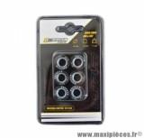 GALET / ROULEAU DE MARQUE DOPPLER POUR MAXISCOOTER 20X12 11,0 G. (X6) POUR: X MAX 125 / MAJESTY 125 / FLAME