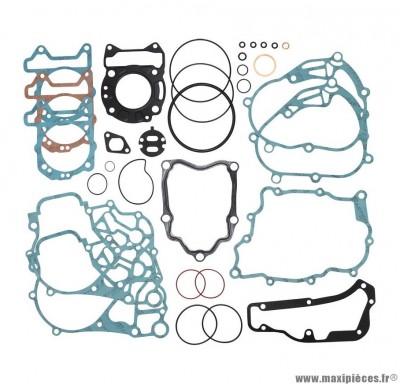 JOINT MOTEUR MAXI SCOOTER POUR: PIAGGIO 125 MP3, VESPA GT, VESPA GTS, X8, X9, X-EVO/APRILIA ATLANTIC/DERBI 125 GP1/GILERA 125 RUNNER (POCHETTE COMPLETE)  (TYPE ORIGINE)