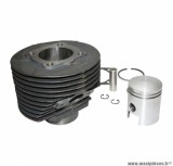 CYLINDRE PISTON MAXI SCOOTER POUR: PIAGGIO 125 VESPA PRIMAVERA (DIAMETRE 55mm)  (TYPE ORIGINE)