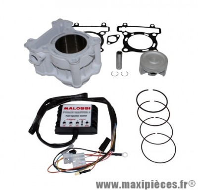 CYLINDRE PISTON MAXI SCOOTER MALOSSI POUR YAMAHA 125 X MAX 2008>, X CITY 2008>/MBK 125 SKYCRUISER 2008>, CITYLINER 2008>