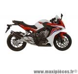 Ligne d'échappement Leovince SBK Nero pour moto Honda CB650 F - CBR650 F