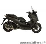Pot d'échappement Leovince SBK Nero pour maxiscooter Honda Forza 125