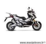 Pot d'échappement Leovince SBK Factory S inox pour moto Honda X-ADV