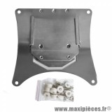 SUPPORT DE PLAQUE D IMMATRICULATION ENDURO AMOVIBLE  NOEND