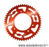 COURONNE 50 A BOITE DOPPLER POUR: SENDA DRD PRO/RACING /RCR 11-> 420 (53DTS) D102 FIX 3X2 ALU COULEUR ROUGE