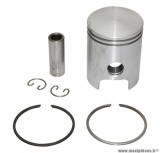 PISTON 50 A BOITE POLINI POUR CYLINDRE FONTE MINARELLI 50 AM6/MBK 50 X-POWER, X-LIMIT/YAMAHA 50 TZR, DTR/PEUGEOT 50 XPS/RIEJU 50 RS1/BETA 50 RR/APRILIA 50 RS 1995>2005 (DIAMETRE 40,3mm) (204.0950)