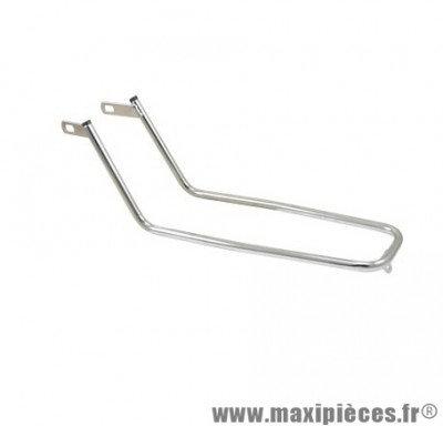 Tringle support sacoche fixation garde boue/amortisseur cyclo pour: 103 mvl chrome