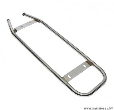 Porte bagage cyclo pour: peugeot 103 mvl chrome ar