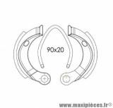 MACHOIRE FREIN POUR MOB DOPPLER AV/AR POUR:103 SPX/RCX/MBK (GRIMECA) D90X20