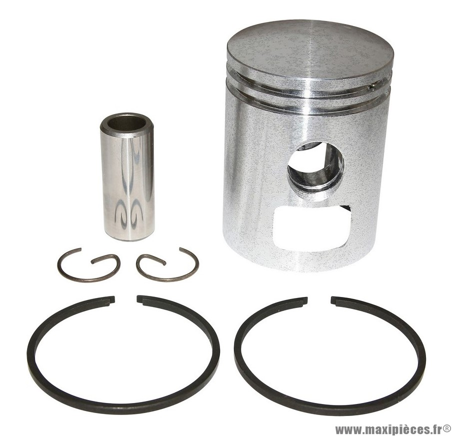 PISTON DE MOBYLETTE POUR: MBK 51, 41, 88, CLUB, MAGNUM RACING, PASSION (LETTRE G - DIAMETRE 38,97)  (TYPE ORIGINE)