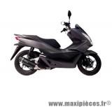 Pot d'échappement Leovince SBK Nero pour maxiscooter Honda PCX 125