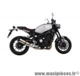 Ligne d'échappement Leovince SBK LV One inox pour moto Yamaha XSR900