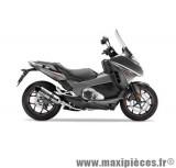 Pot d'échappement Leovince SBK LV One inox pour moto Honda NC/Integra 700/750