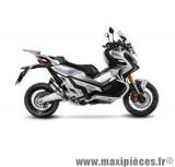 Pot d'échappement Leovince SBK LV Pro inox pour moto Honda X-ADV
